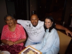 Harris cousins in the House! Eulalia Harris Brooks, Brian Owens (son of Charlotte Harris Owens) and Barbara Harris Jarvi