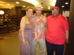 Sandra Noel and Donald Gray (son of Eula) and cousin John