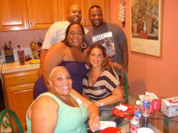 From The Top: Brian Owens, Emmanuel, Shakey, Corina, Dana Owens