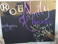 This Reunion Sign is Fabulous! Better than a banner.